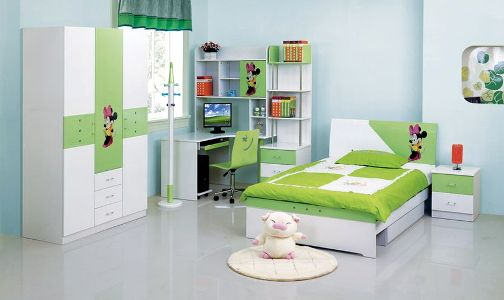 The-furniture-in-the-childrens-room