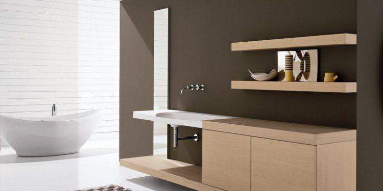 Необходимая мебель для ванной комнаты