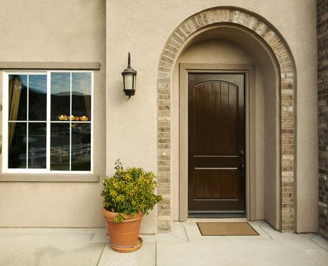 входные двери в частный дом разные цвета