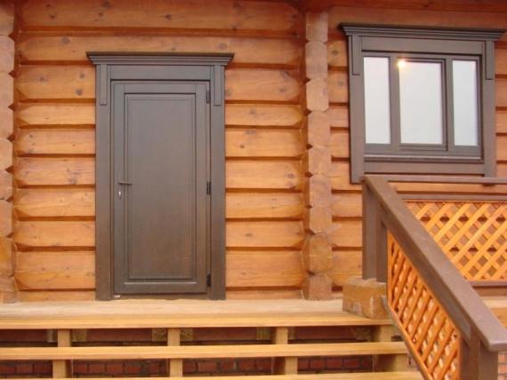 Установка железных дверей в деревянном доме своими руками