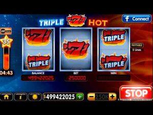 Игровой автомат онлайн Hot Triple Sevens в казино Миллион